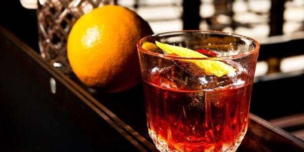 негрони с шампанским коктейль рецепт