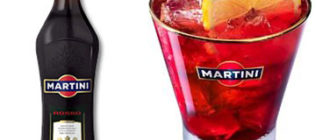 с чем пить мартини россо