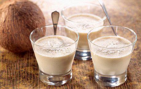 коктейль с кокосовым молоком безалкогольный
