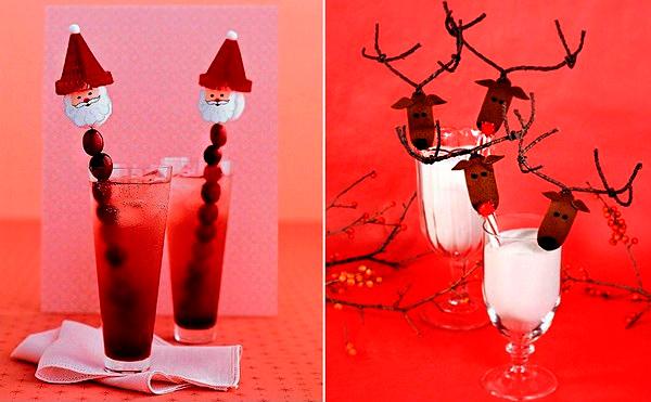 детские новогодние коктейли