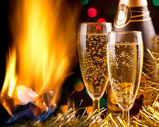 коктейль на основе шампанского