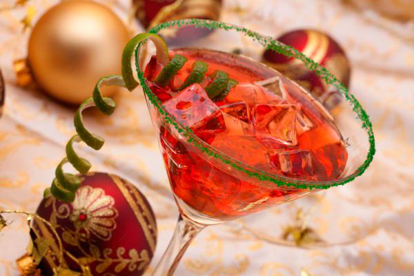 новогодний коктейль рецепт
