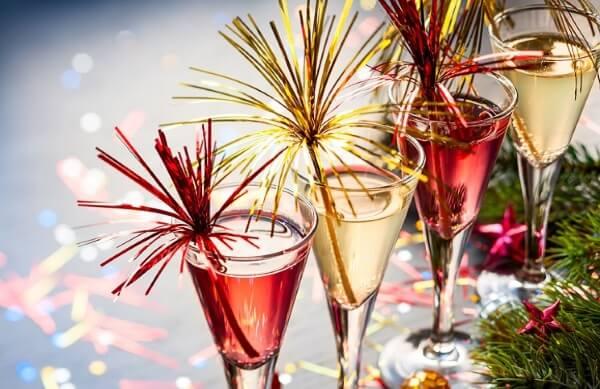 новогодний коктейль