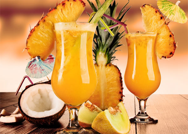 коктейли с ананасовым соком