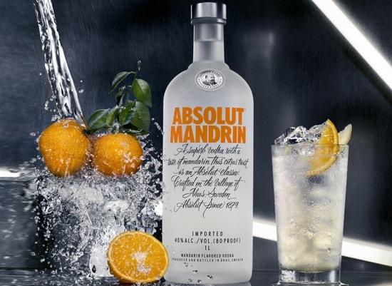водка с имбирным элем и апельсином