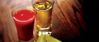 томатный сок и текила